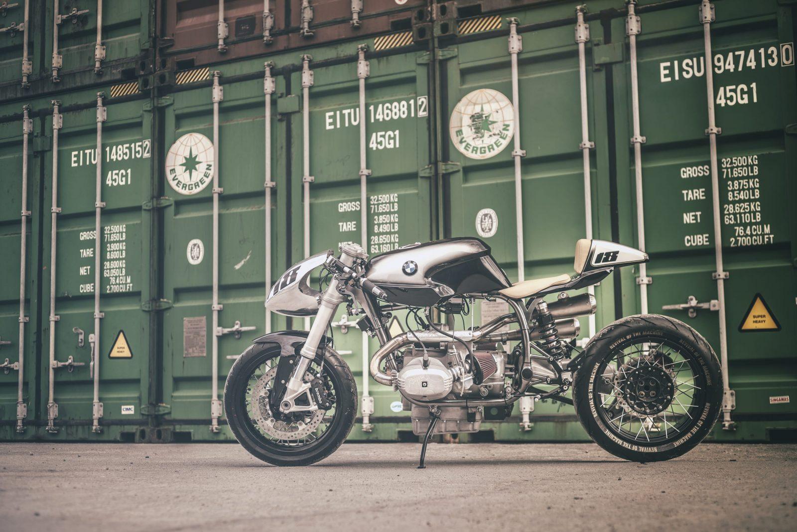 La BMW R100 Silver Bullet de Revival of the Machine