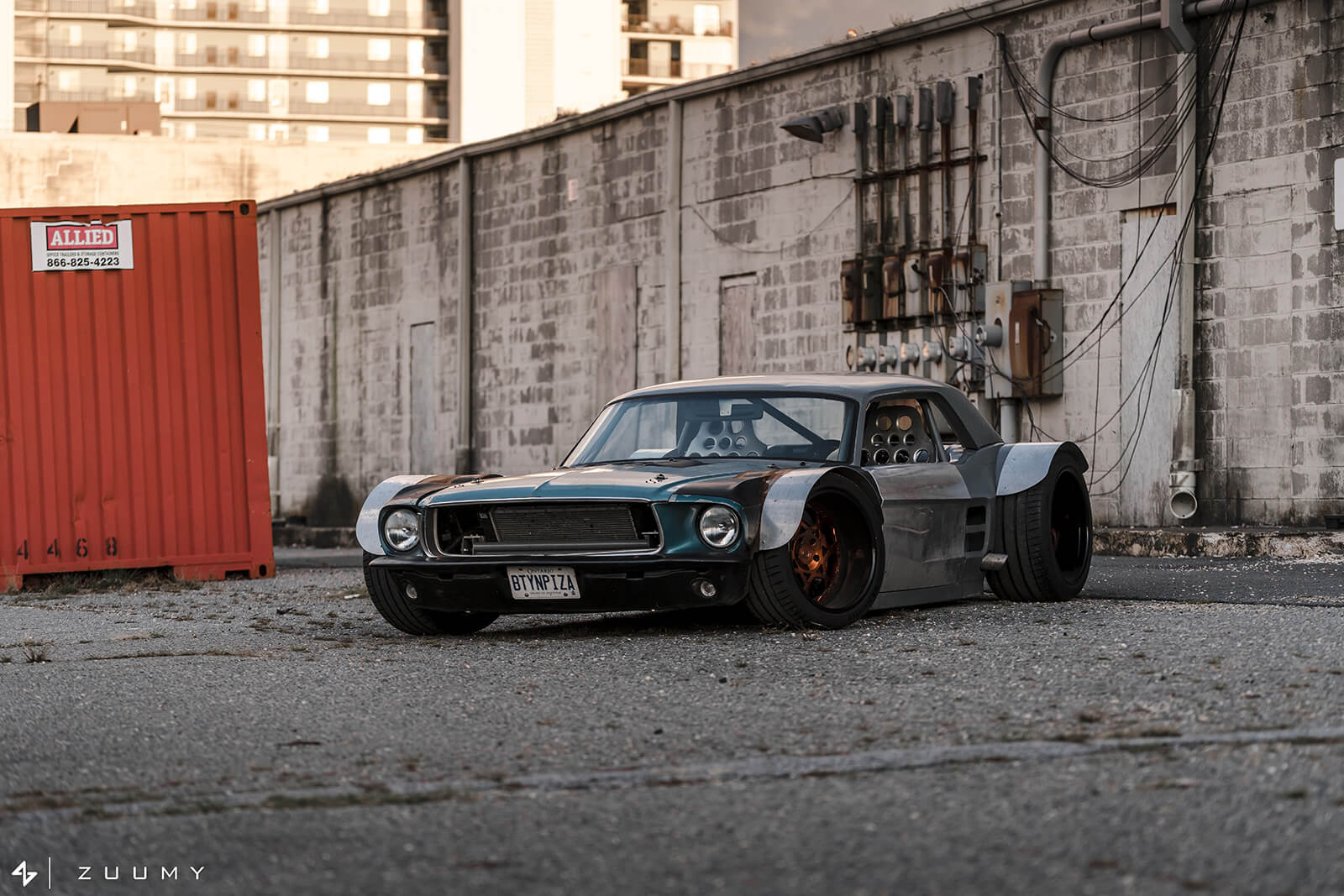 Mustang Ford 1967 Corvette C5 Ls Swap mad max Kyle Scaife