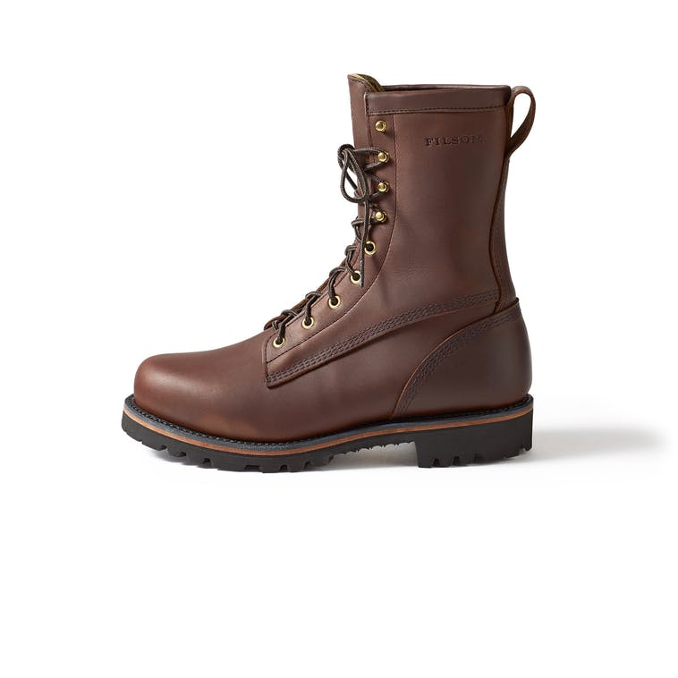 Filson insulated highlander boots chaussure moto cuir vintage cafe racer