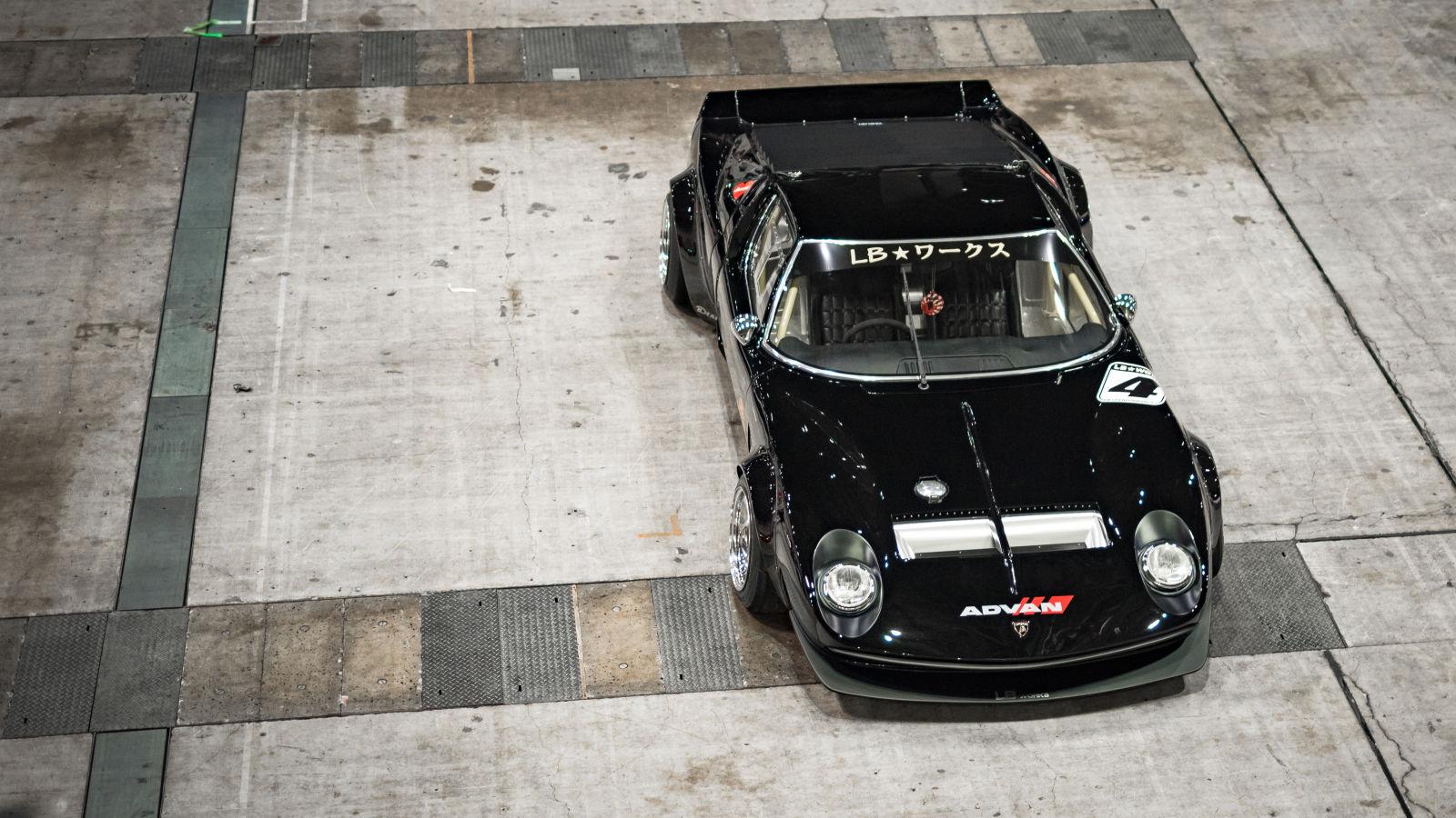 Liberty Walk lamborghini miura Wataru Shakotan Koyaji Kato rabaissée low GT40