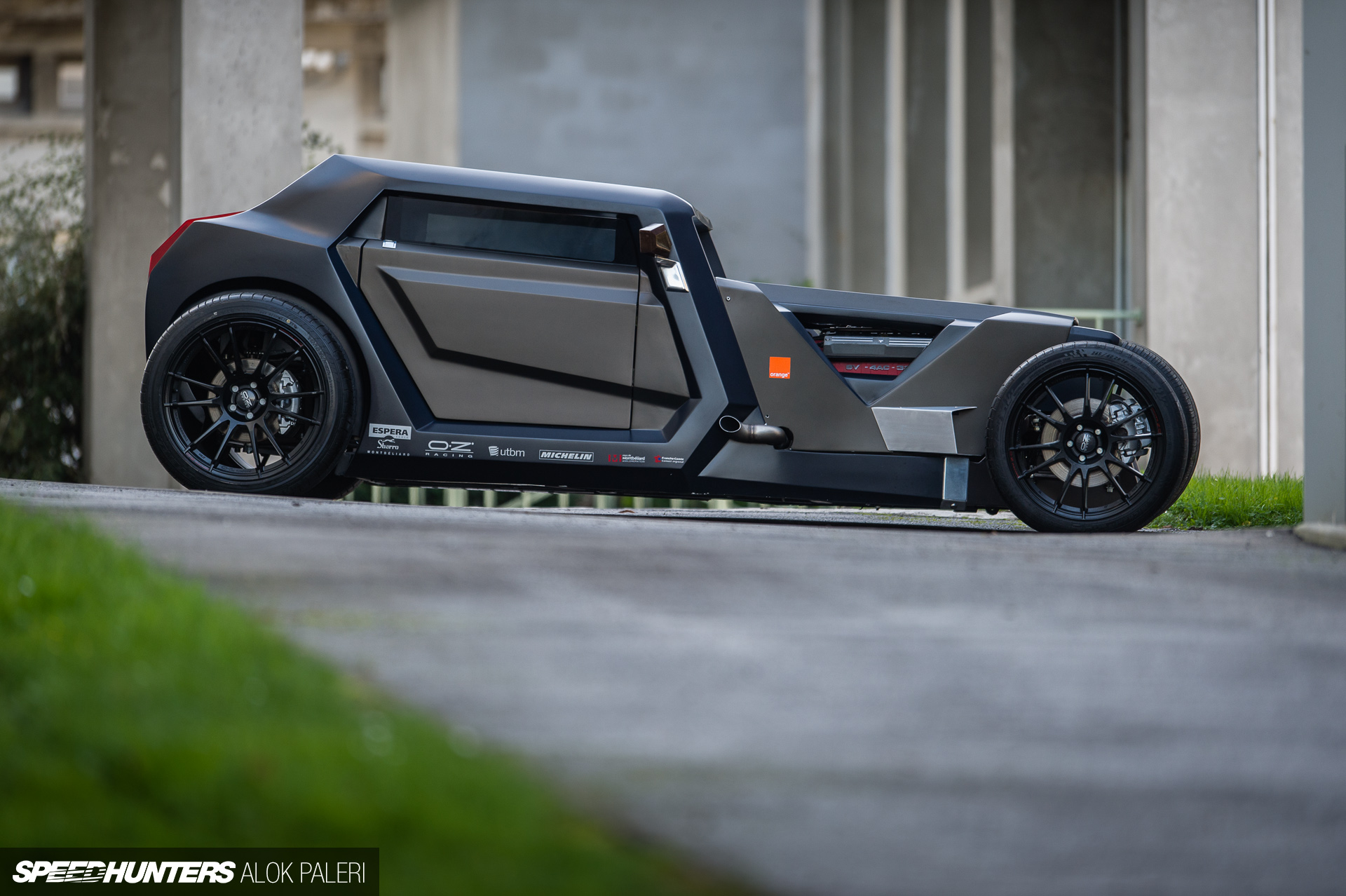 sbarro eight concept car hot rod
