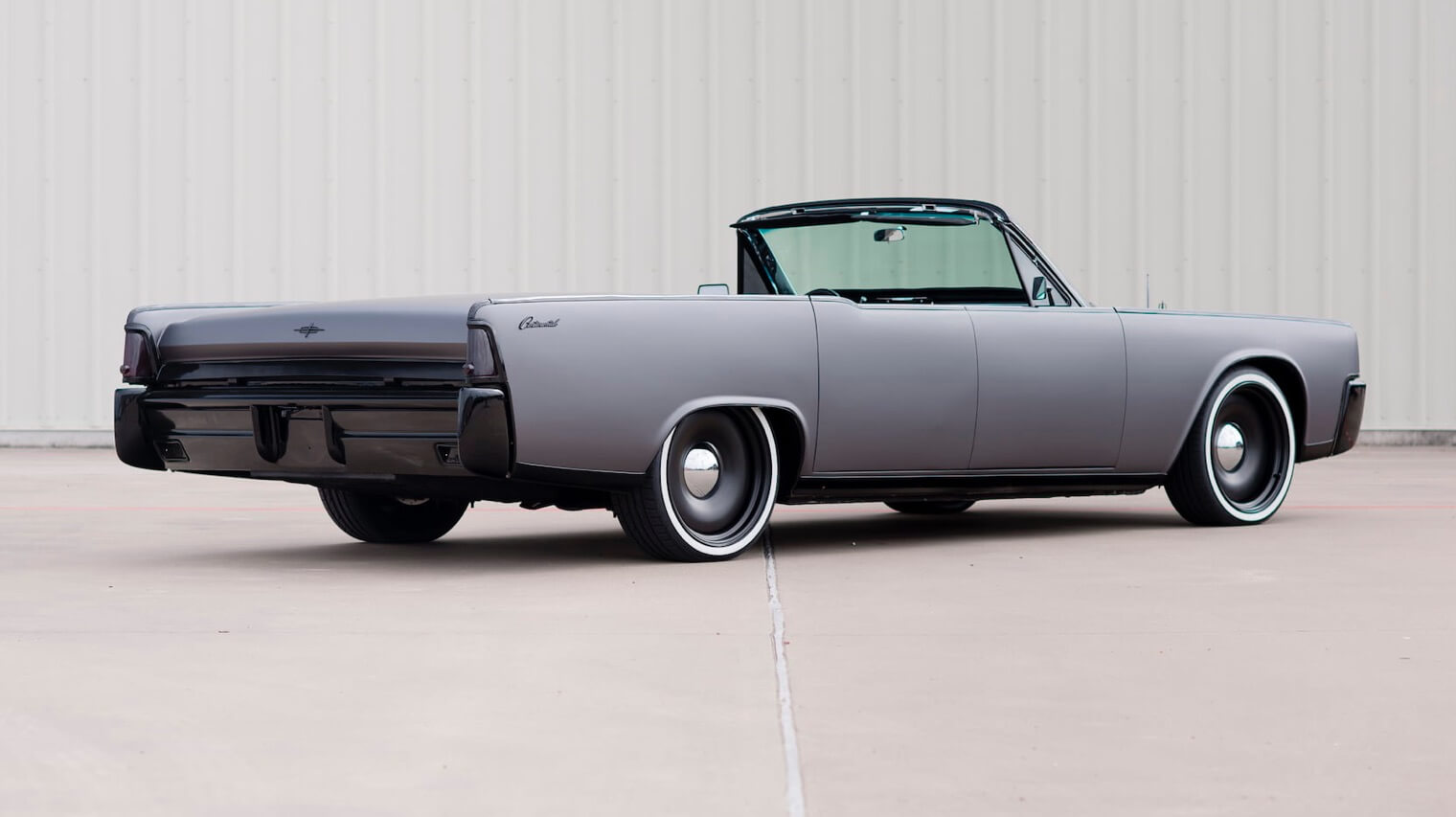 Lincoln continental convertible 1964