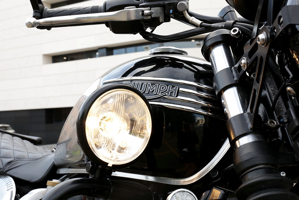 TMRT tamarin T120 scrambler Triumph