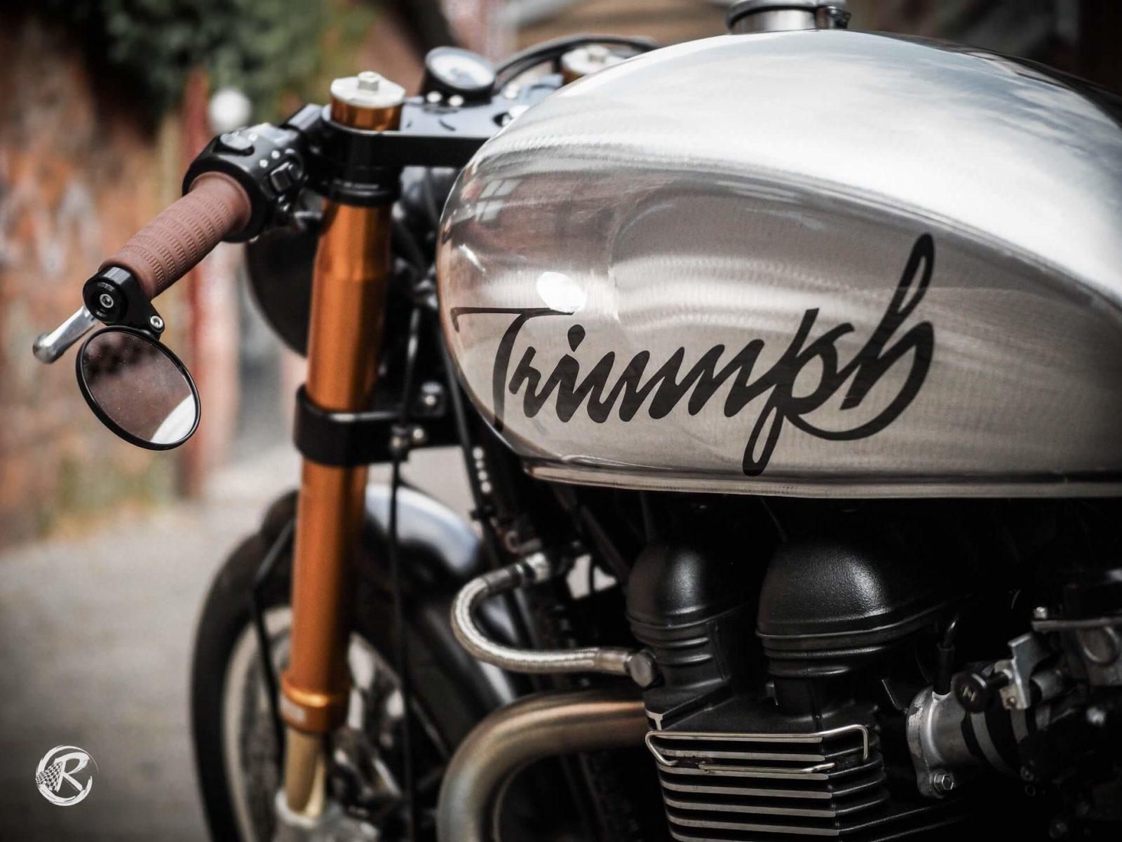 triumph bonneville thruxton classic bike classicbike