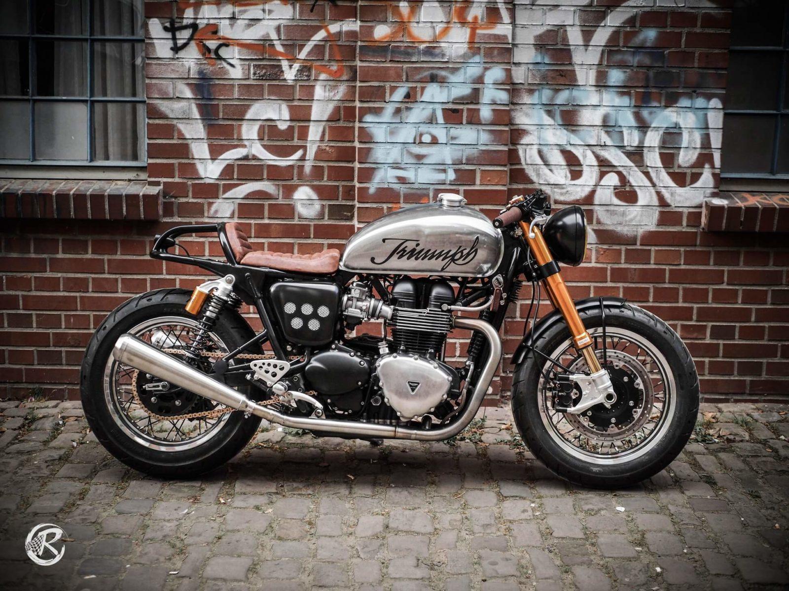 La belle Triumph 900 de Classicbike
