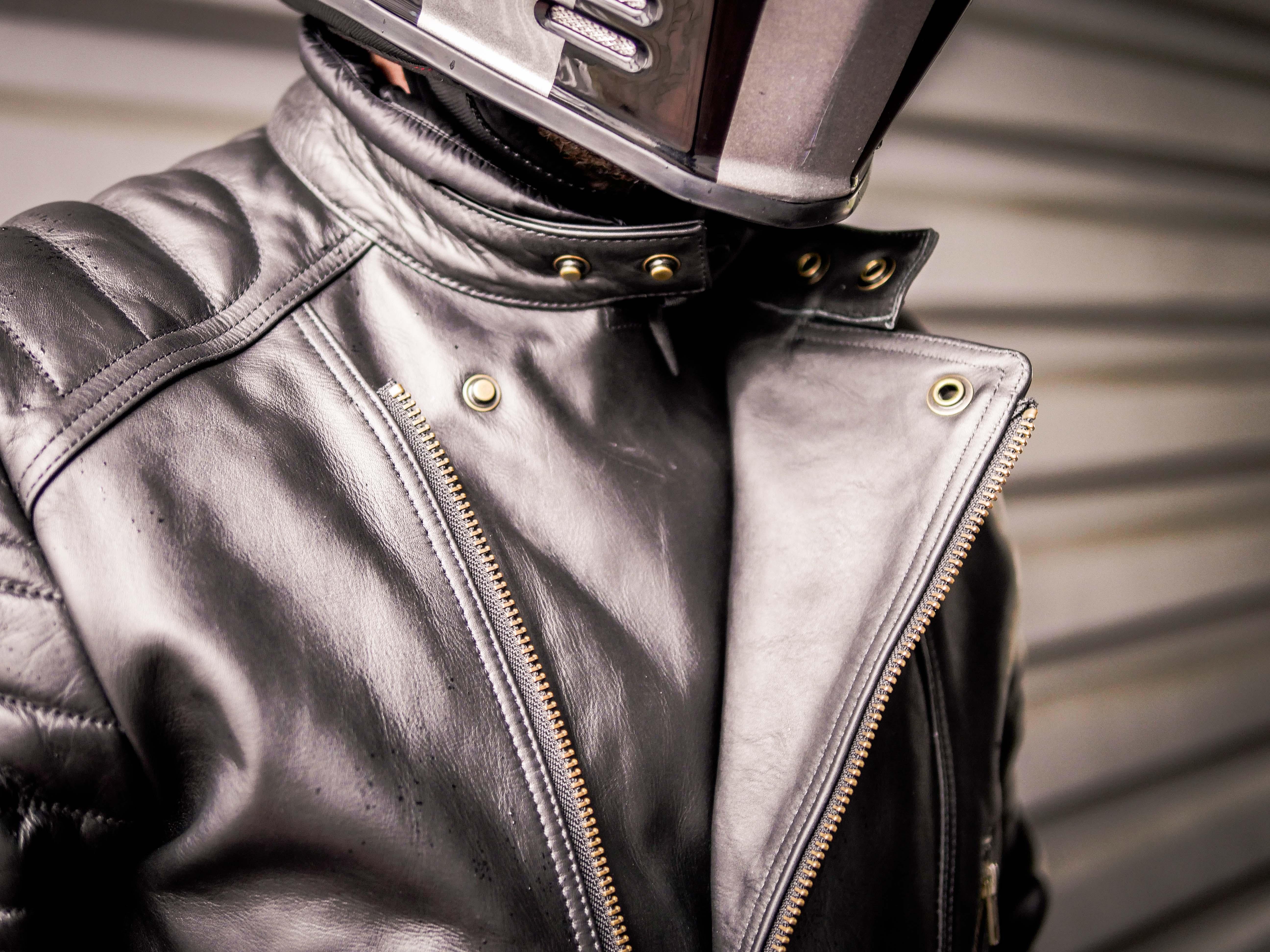 blouson guns vintage cuir