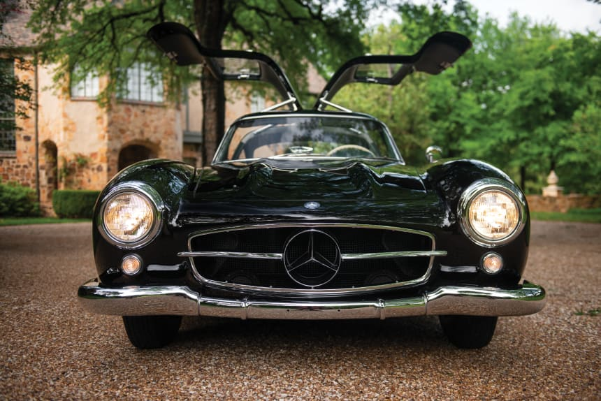 1954 Mercedes Benz 300 SL porte papillon gullwing