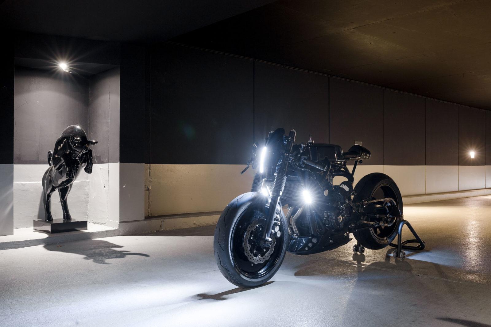 L'étonnante Yamaha XSR700 par le French Atelier