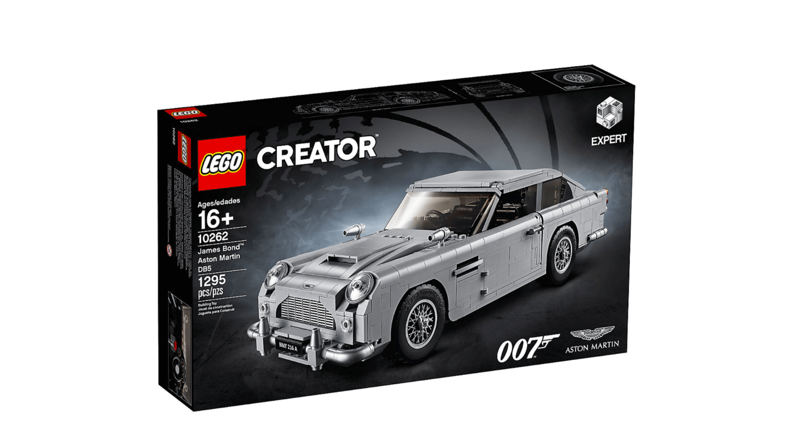 lego james bond creator db5 gadgets 007 expert