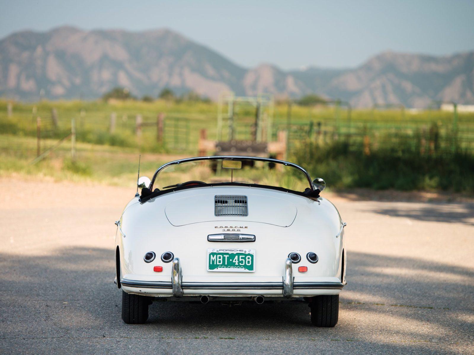 Porsche 356 A 356A Speedster voiture James dean