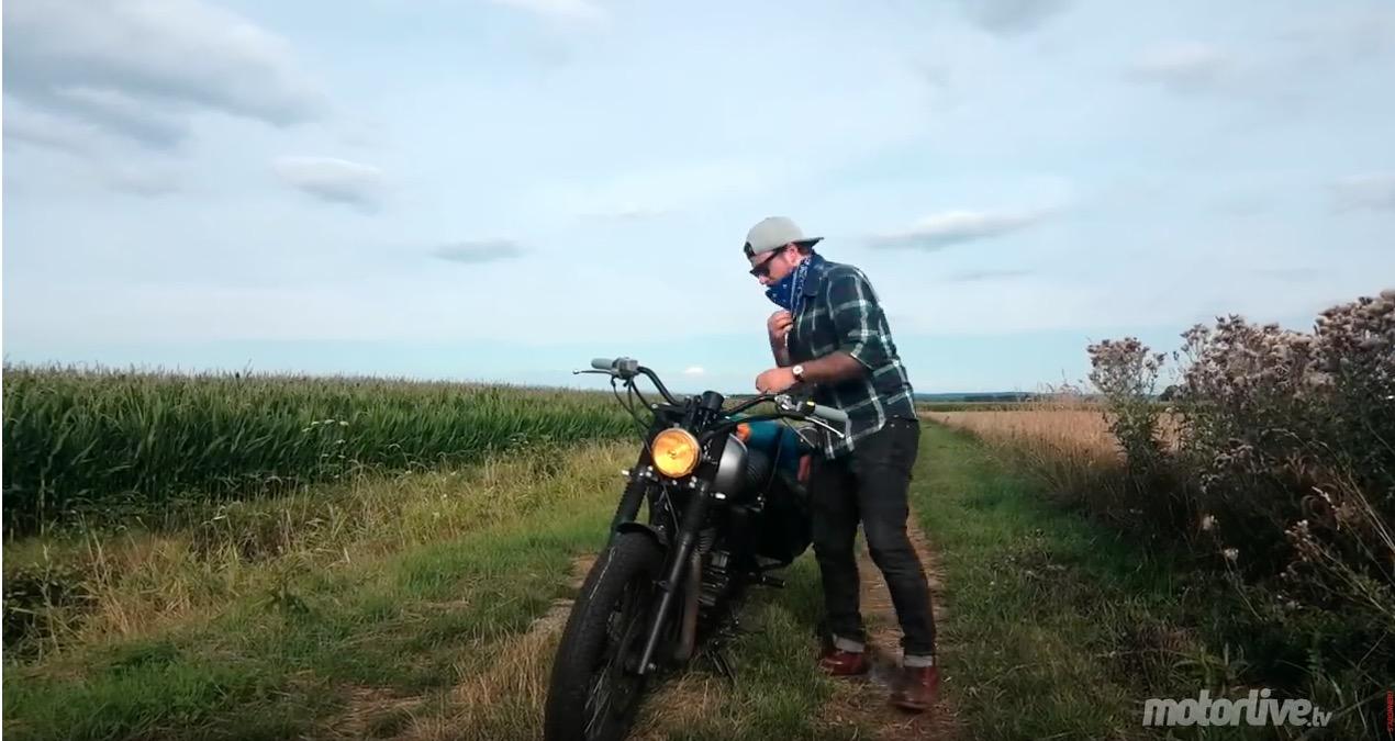 ben Blake équipée sauvage roadtrip moto tout quitter pour partir