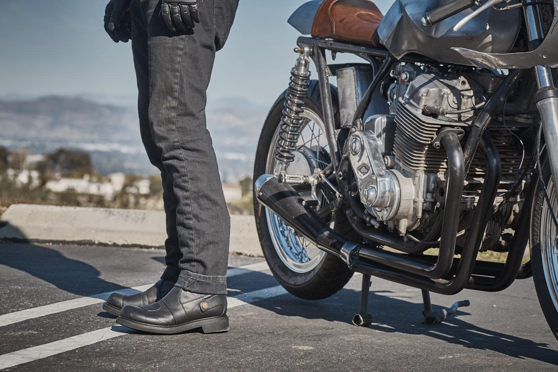 Pagnol boots bottes P1 moto vintage