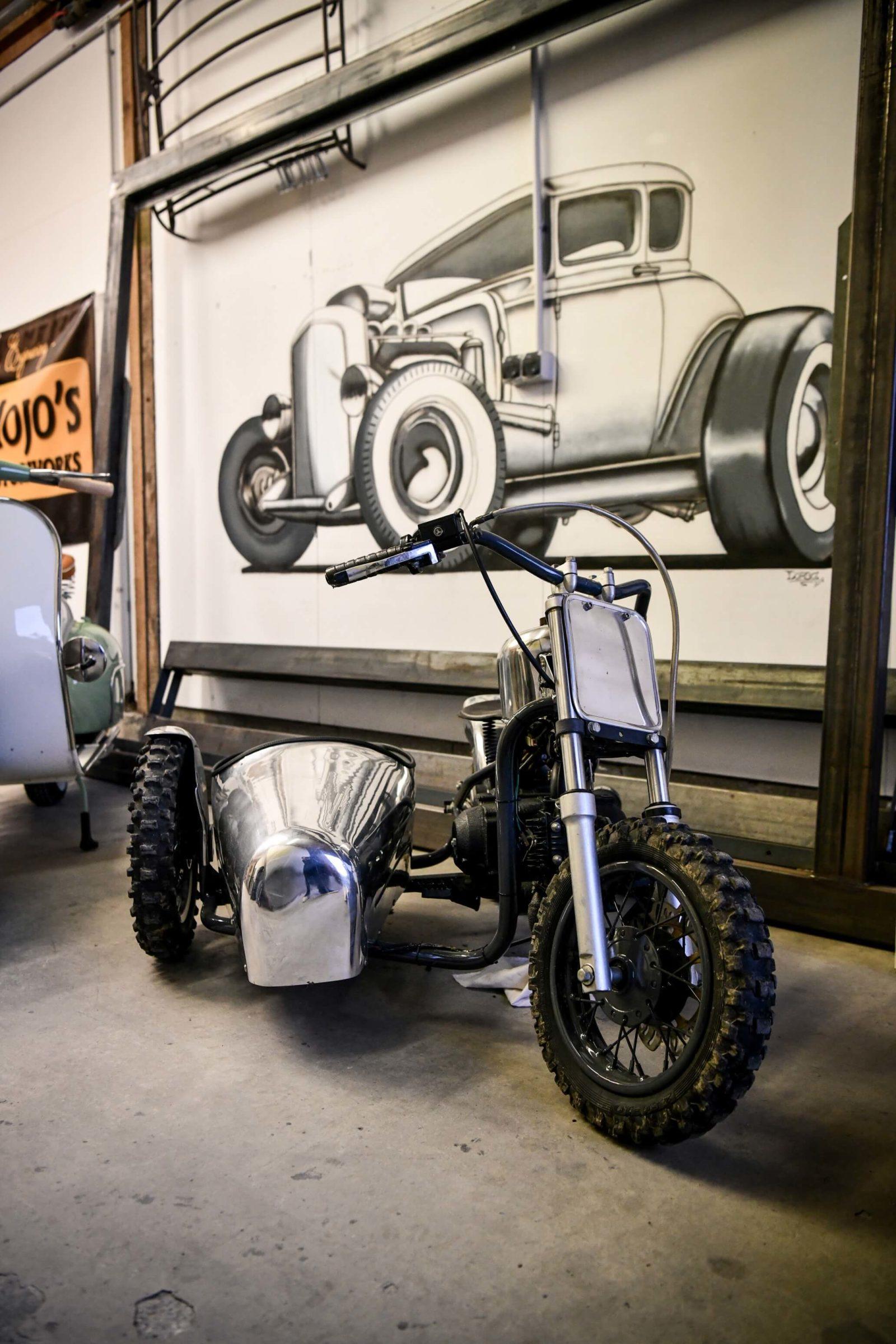 Mojo Motorworks mojo's atelier preparation normandie cafe racer scrambler bobber BMW