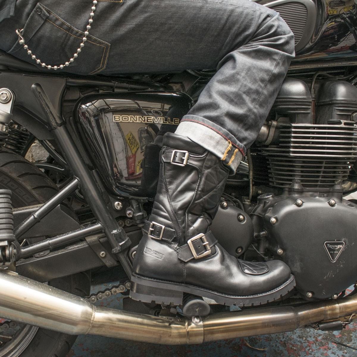 KRass Botts red series bottes moto vintage