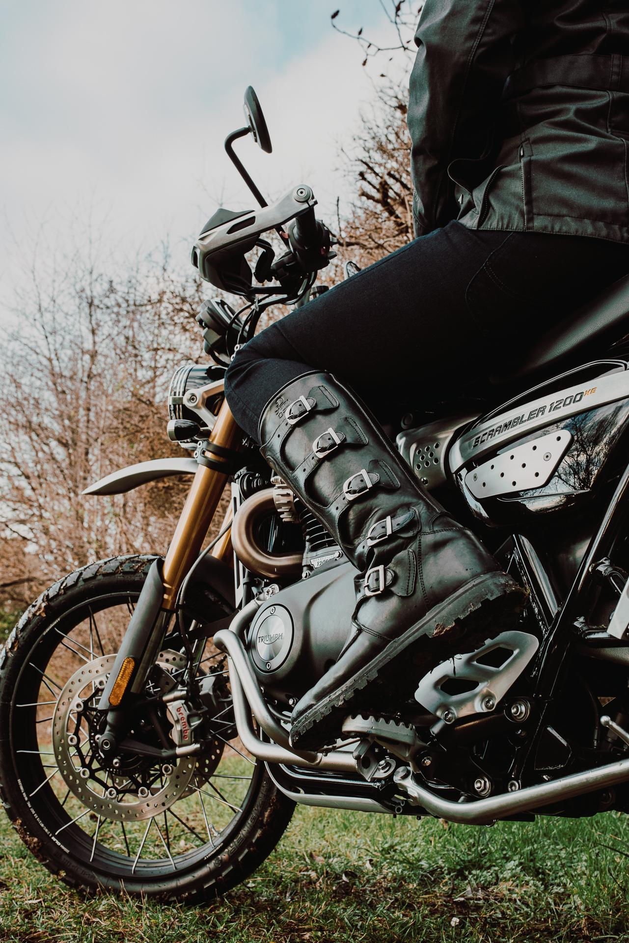 dastra motoculture bottes moto vintage neo racer cafe racer scrambler