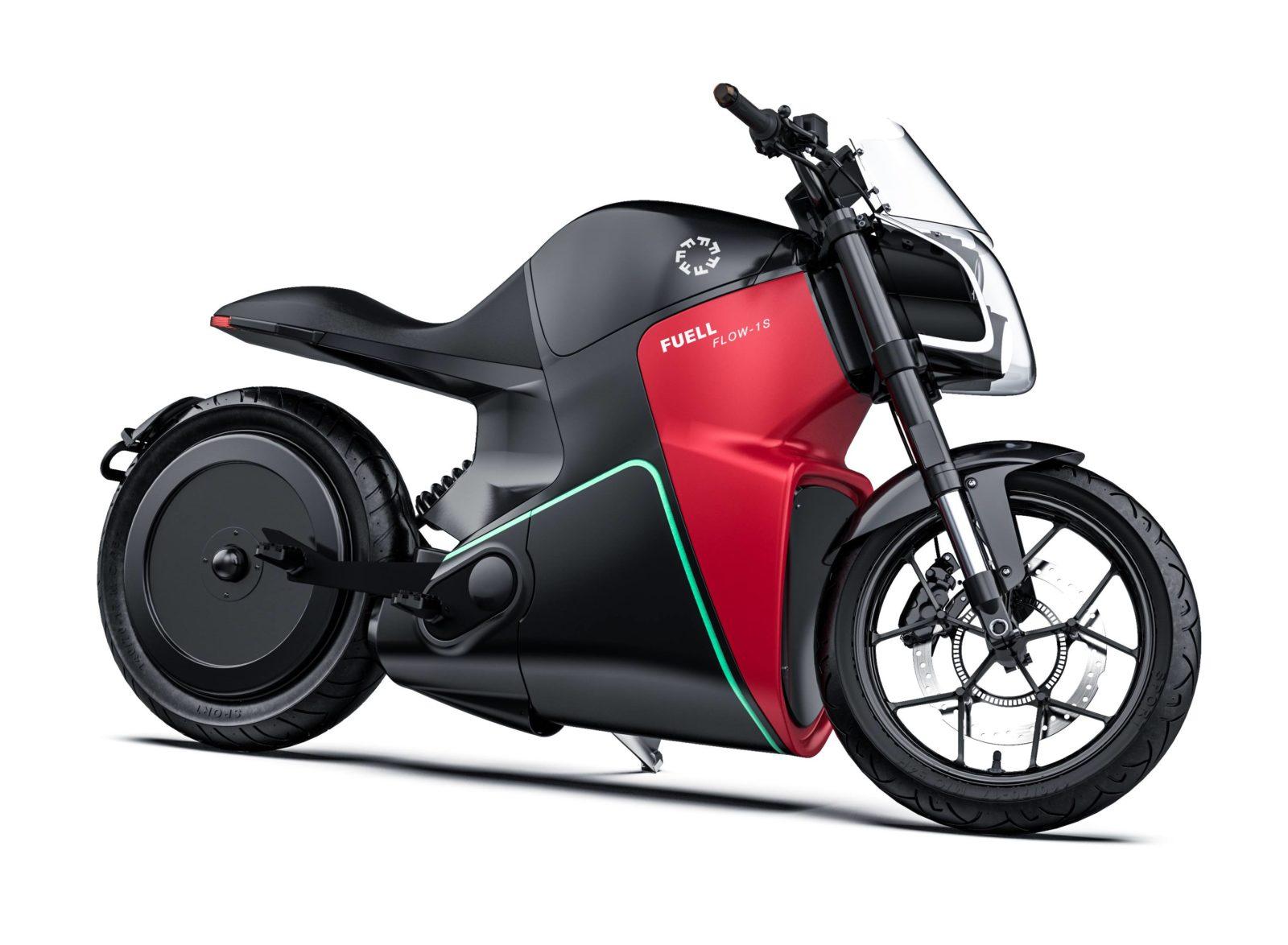 FUELL motorcycle Erik Buell moto éléctrique