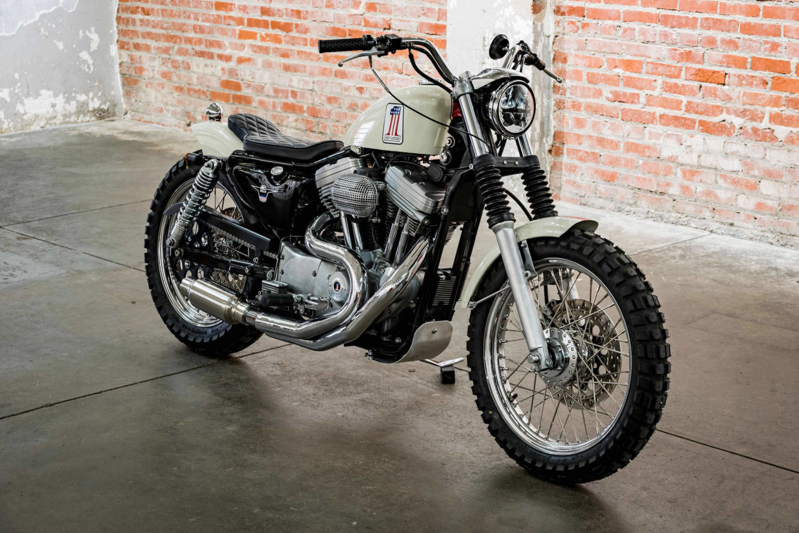 La Harley XL1200 Sportster selon Hageman!