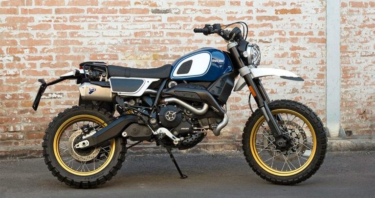 Le FUORILUOGO KIT, le kit ultime pour personnaliser votre Ducati Scrambler 800!
