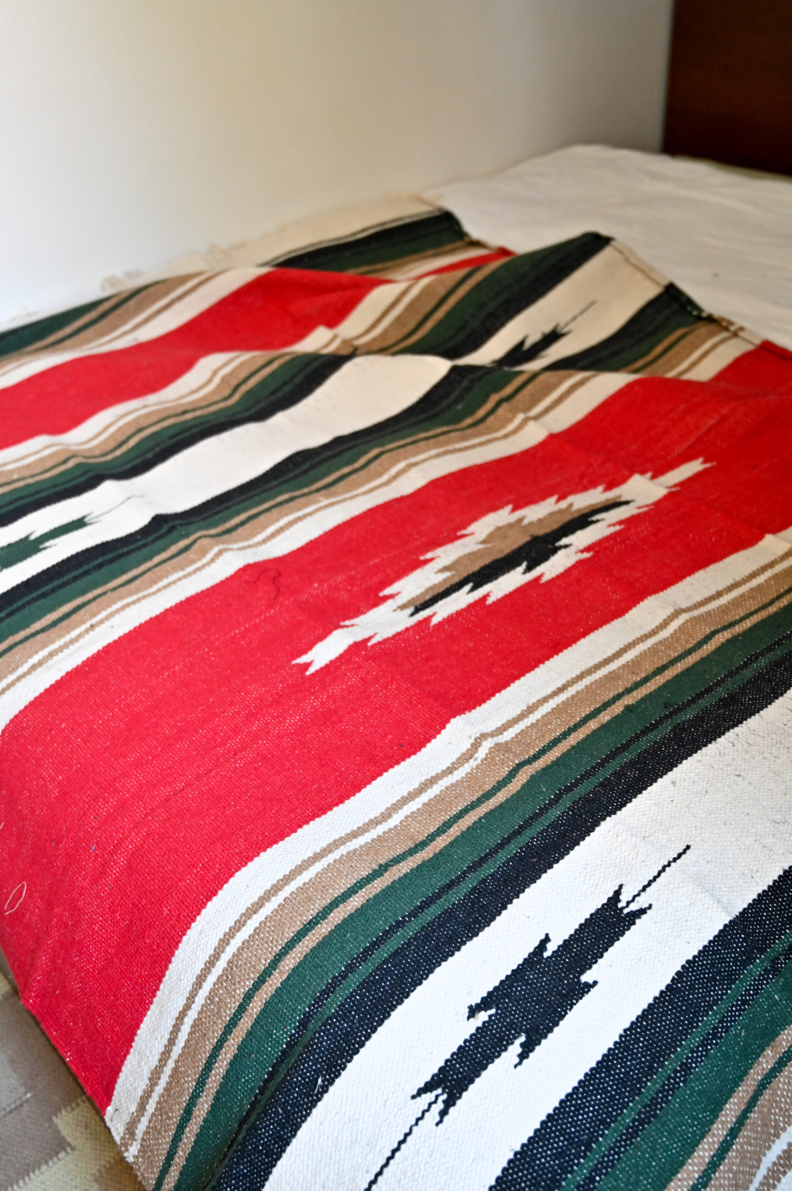 iron resin calle navy couverture mexicaine serape prix acheter