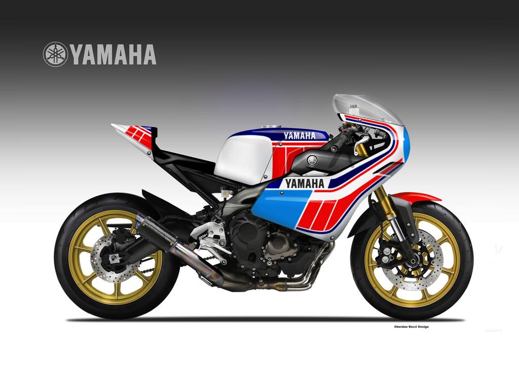 Yamaha sportive neo retro Oberdan bezzi