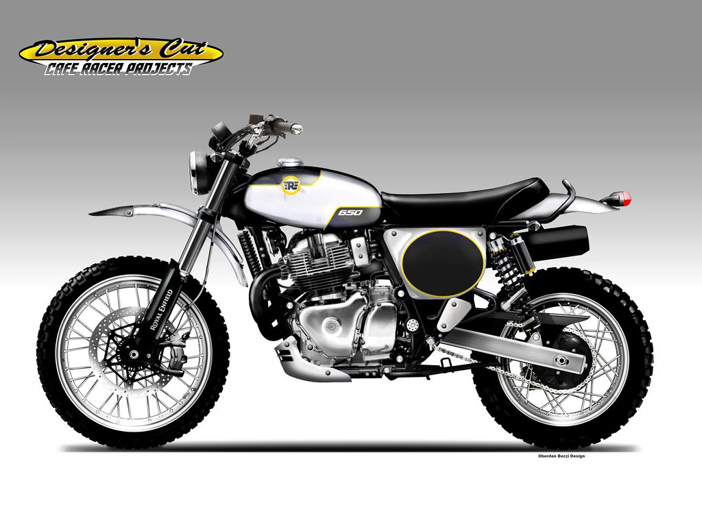 moto custom Oberdan Bezzi design Neo retro vintage moderne classic
