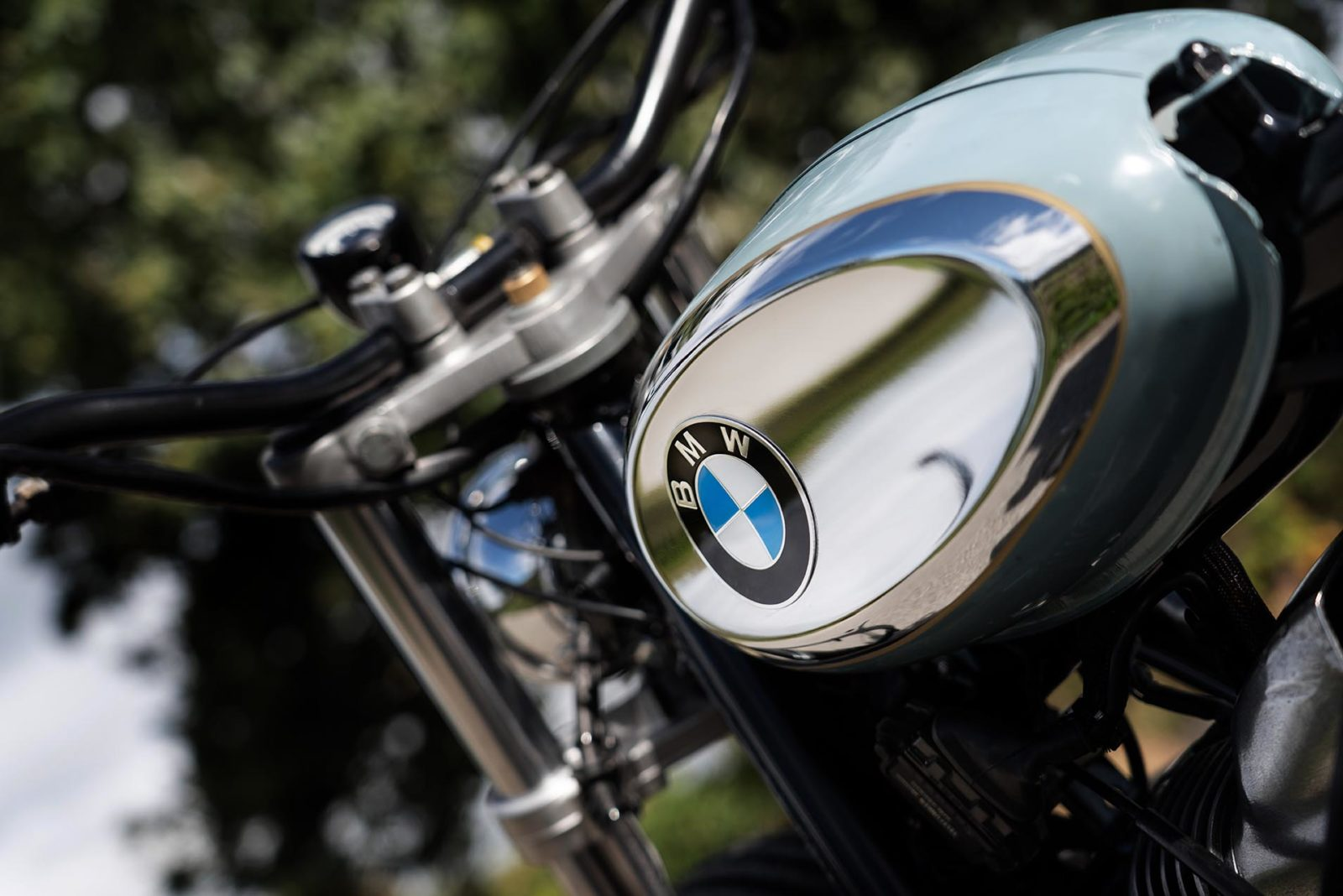 BMW R65 les ateliers du dr Joe cafe racer preparation moto