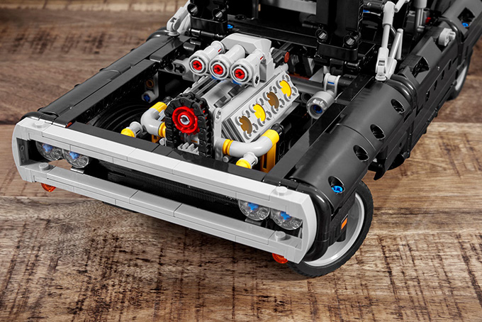 Lego Technic Dodge Charger Dominic Toretto fast and furious