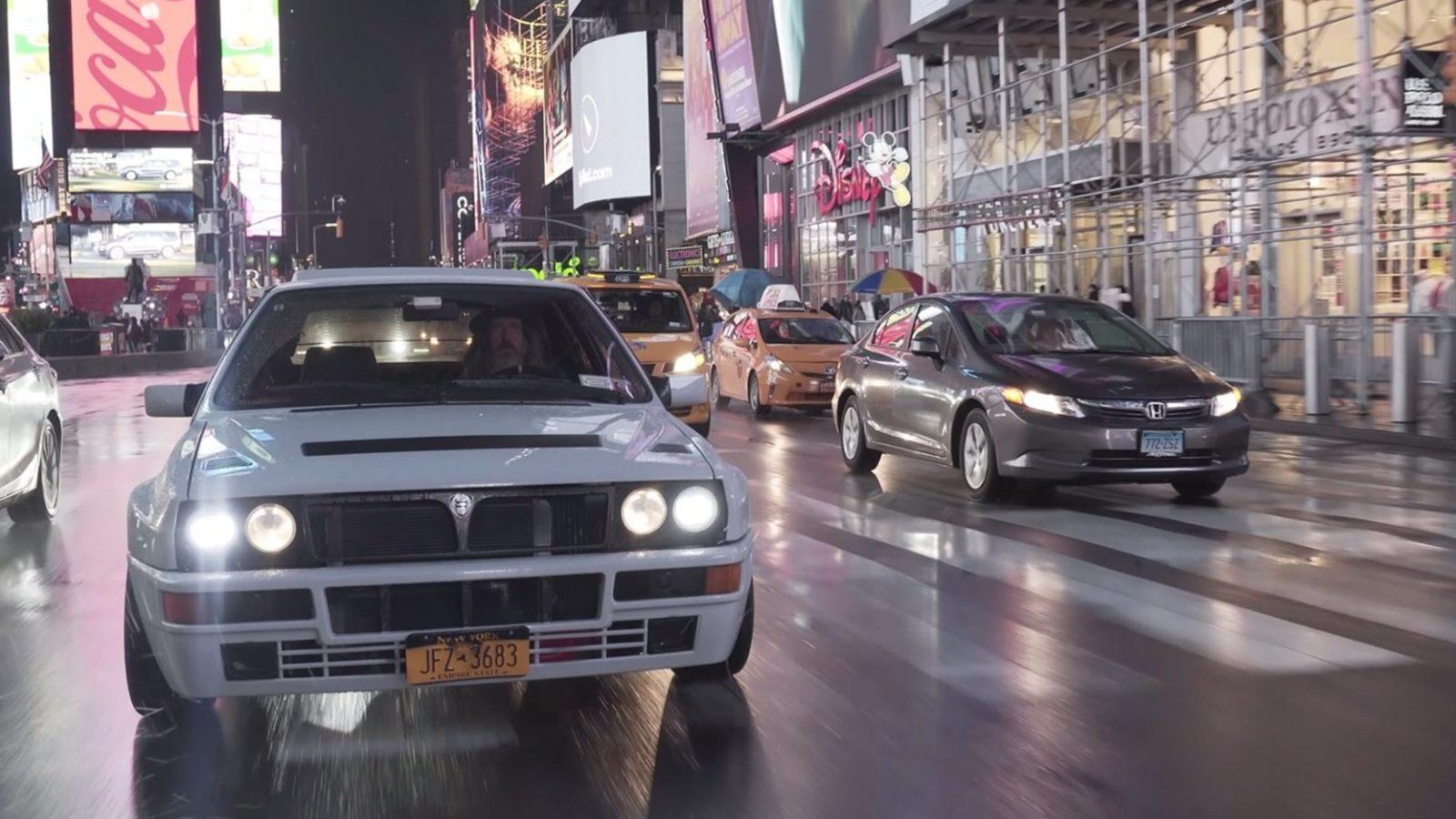 Lancia Delta Magnus Walker big apple New York outlaw