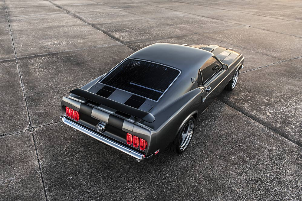 Ford Mustang Mach 1 John Wick coupé muscle car usa voiture