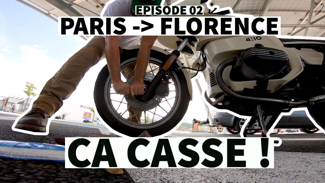 Le Roadtrip Paris -> Florence – Episode 02