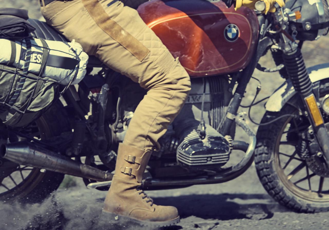 Les nouvelles bottes moto Fuel PARATROOP