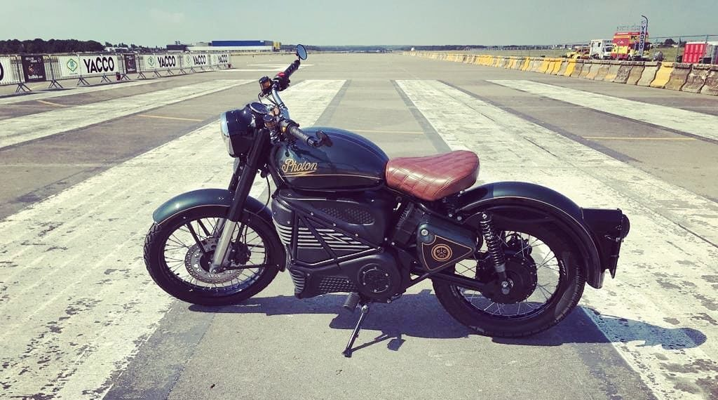Royal Enfield Photon par Electric Classic Cars