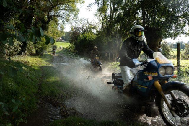 Yamaha tenere boue