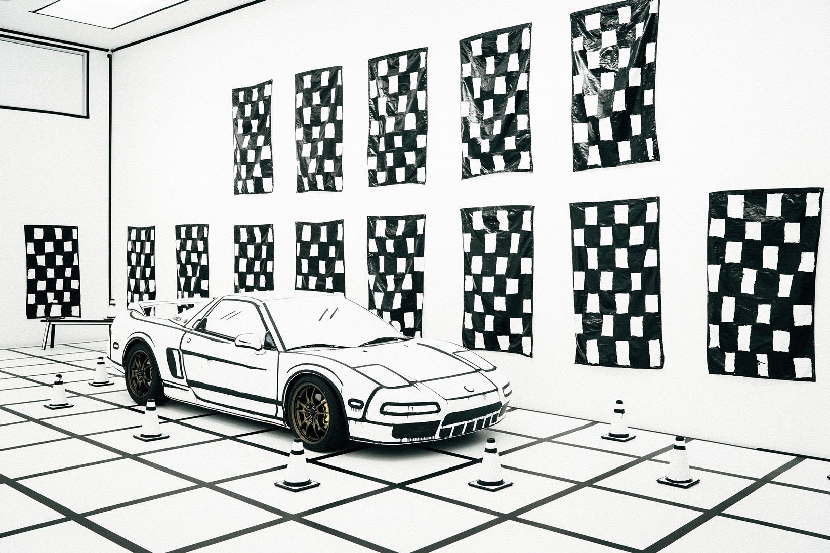 L'Acura NSX de Joshua Vides à l'exposition Reality to Idea