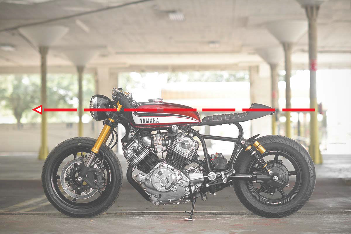 construction cafe racer