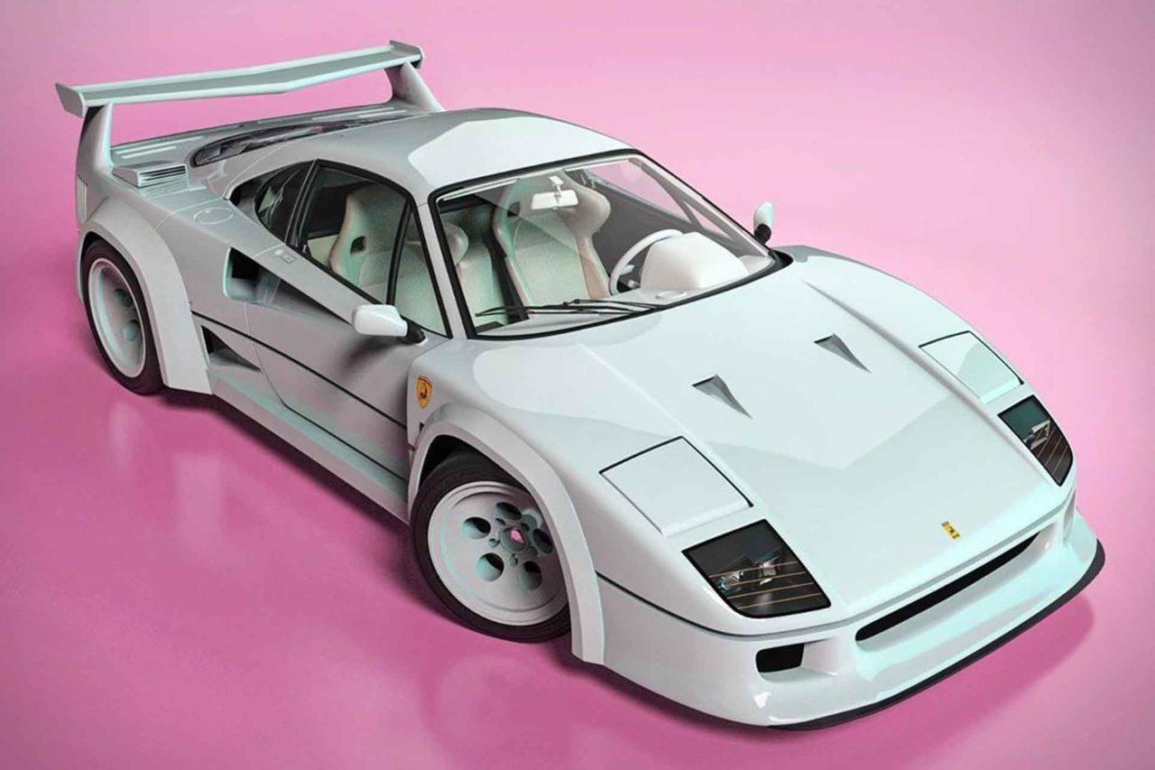 Ils ont croisé une Ferrari F40 avec une Lamborghini Countach !
