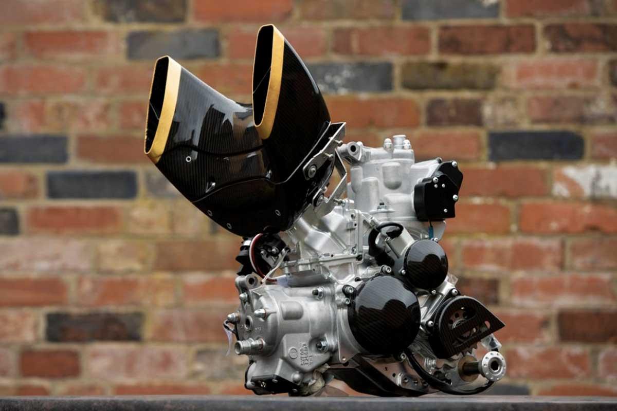 V-Twin à 90° fabriqué par Vin Motors