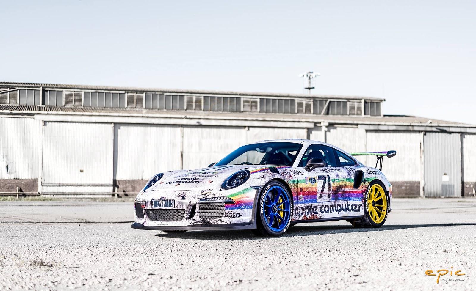 Porsche 911 GT3 RS Apple