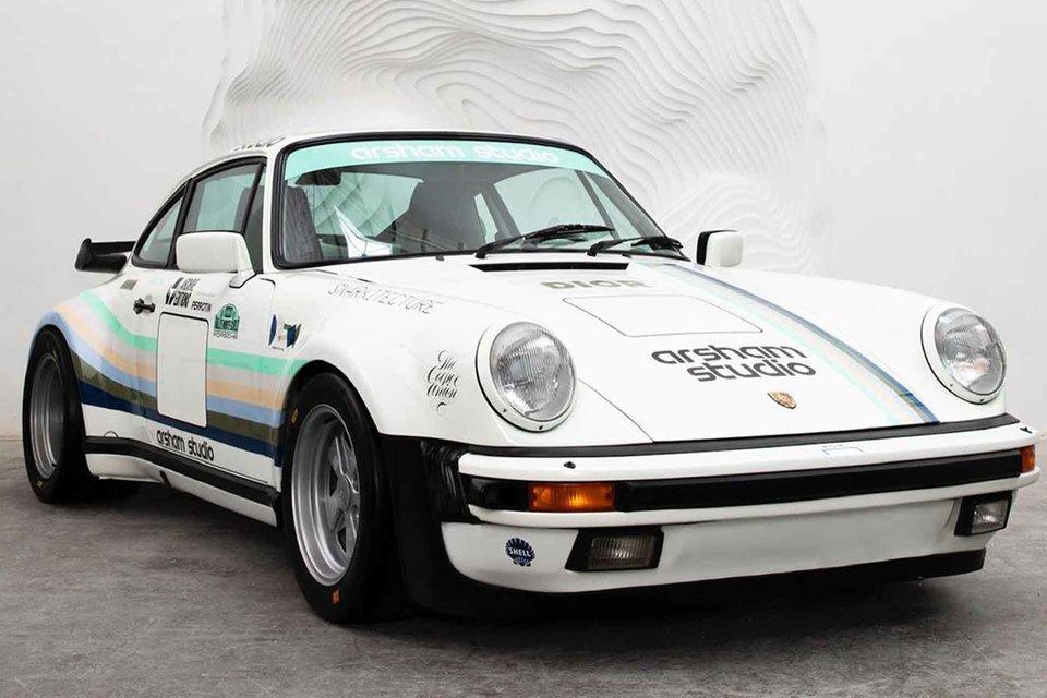 Porsche 930A de Daniel Arsham : hommage à l'Apple Porsche