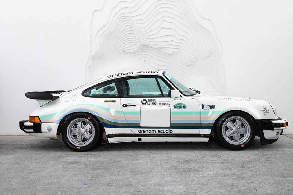 Apple Porsche 930A de Daniel Arsham