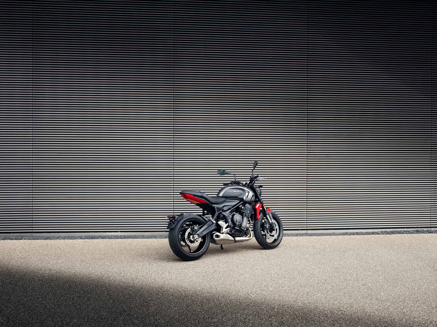 Triumph Trident 2020 2021 arrière