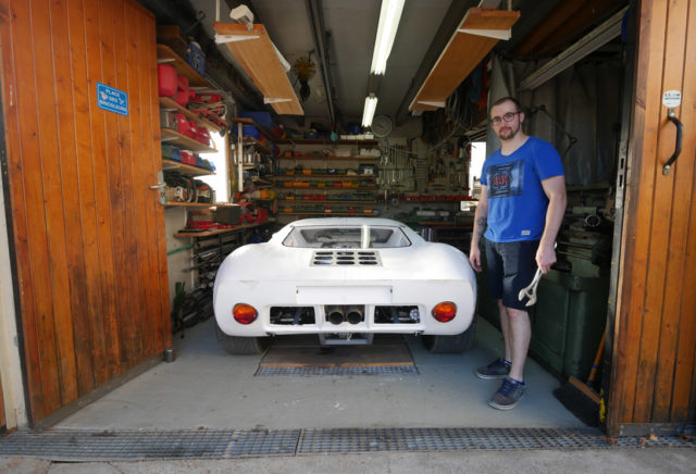 benjamin workshop garage GT40