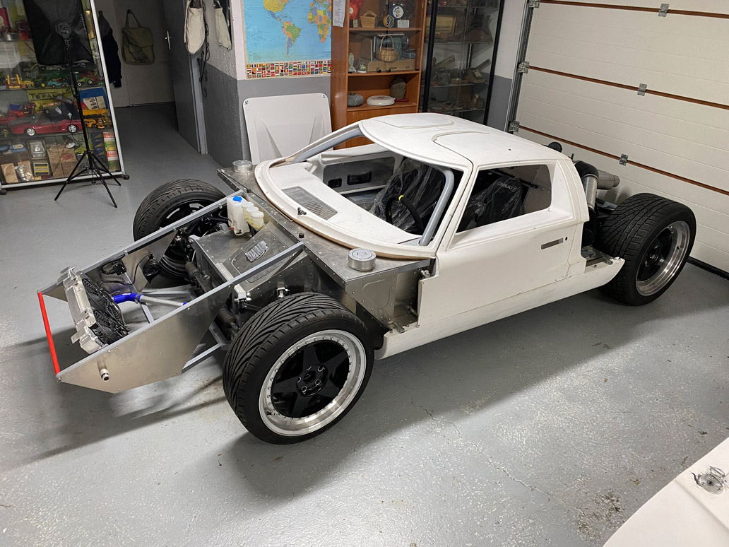 chassis replique gt40