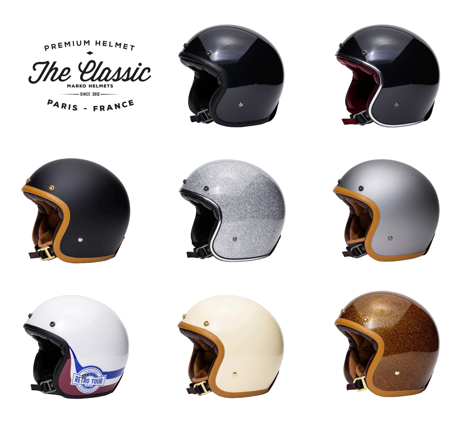 coloris casques the classic marko