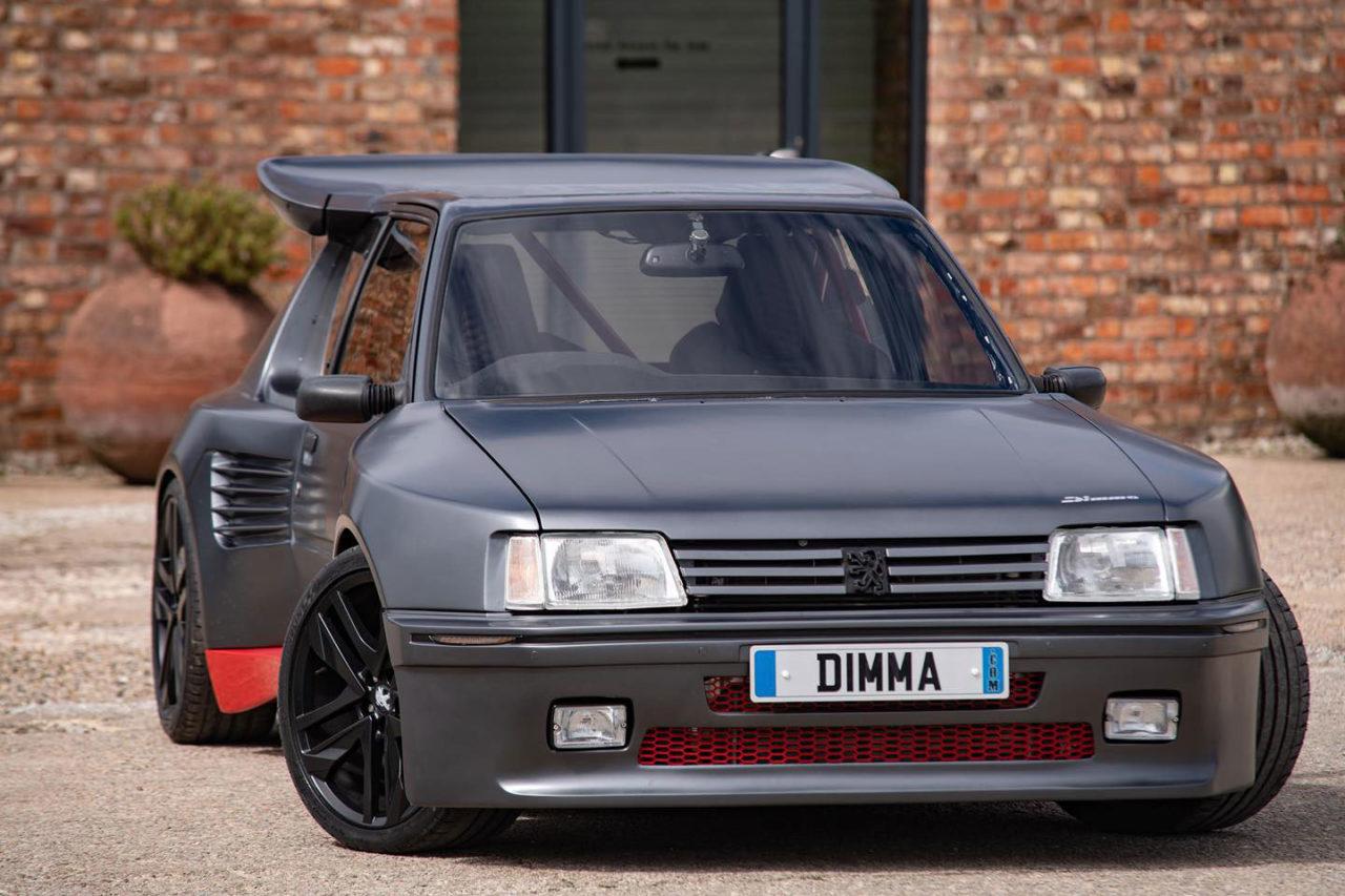 Peugeot 205 Dimma T16 , la résurrection d'une légende