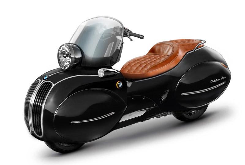 BMW C 400 X, le concept de scooter Art Déco par Nmoto