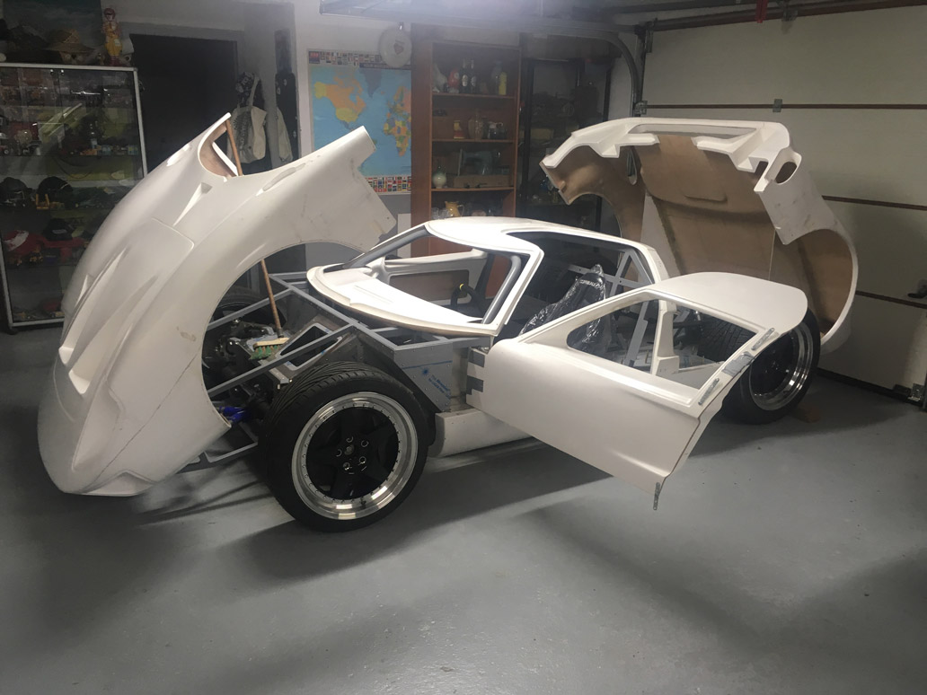 projet replique ford gt40 benjamin workshop
