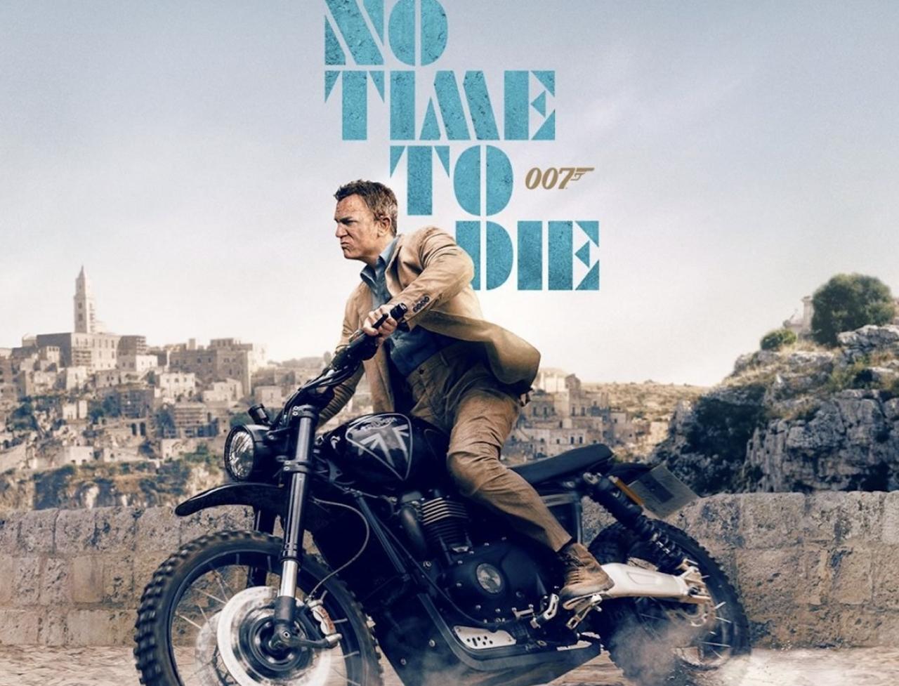 James Bond à moto : des scènes de plus en plus récurrentes