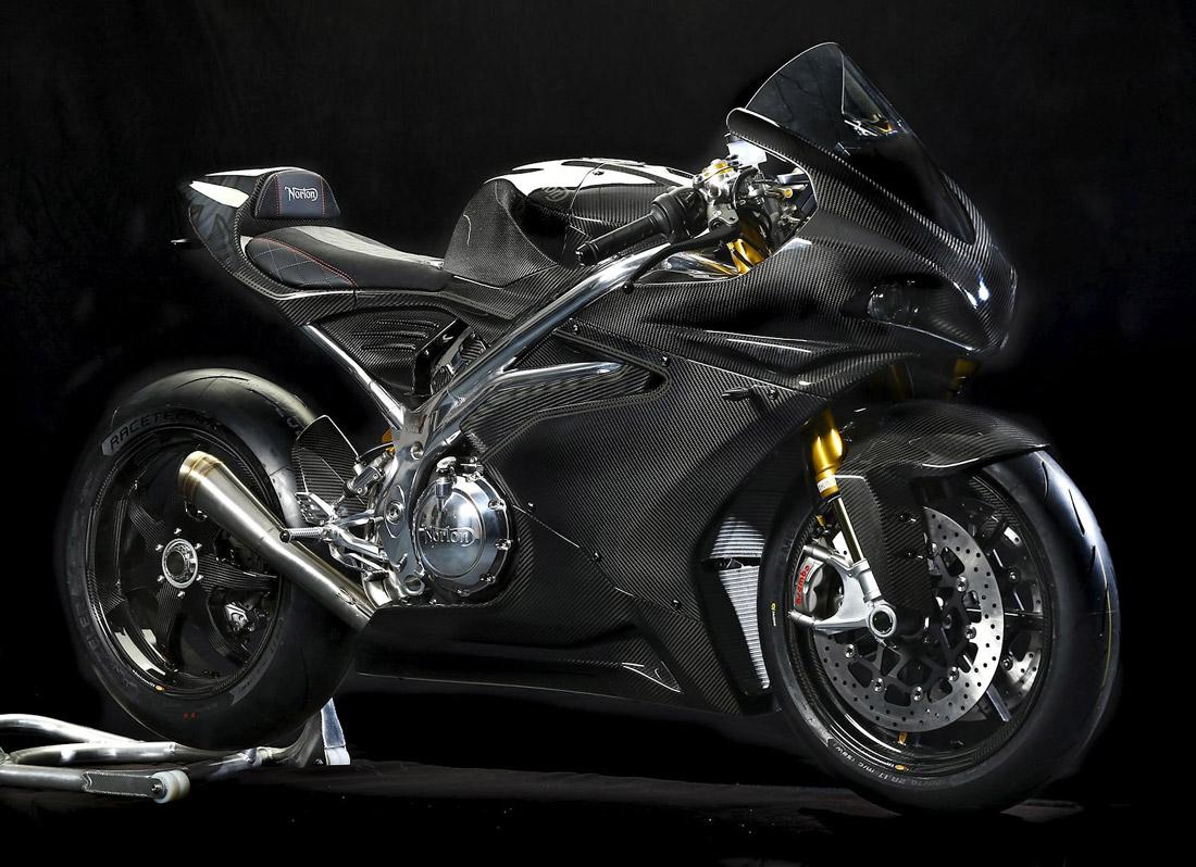 V4RR Norton motorcycle