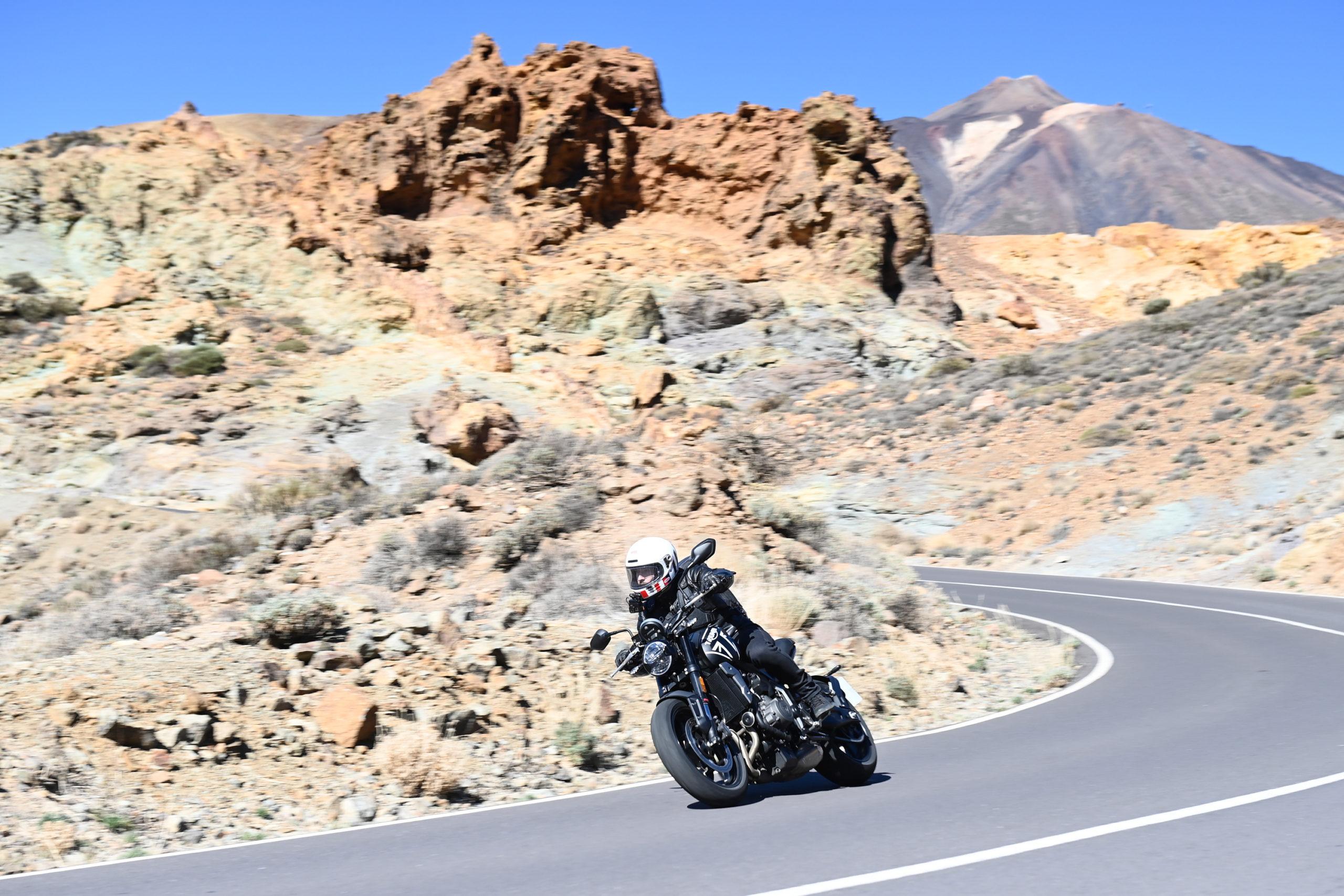 Triumph Trident route
